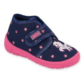 Befado chaussures pour enfants 538P015 marine rose