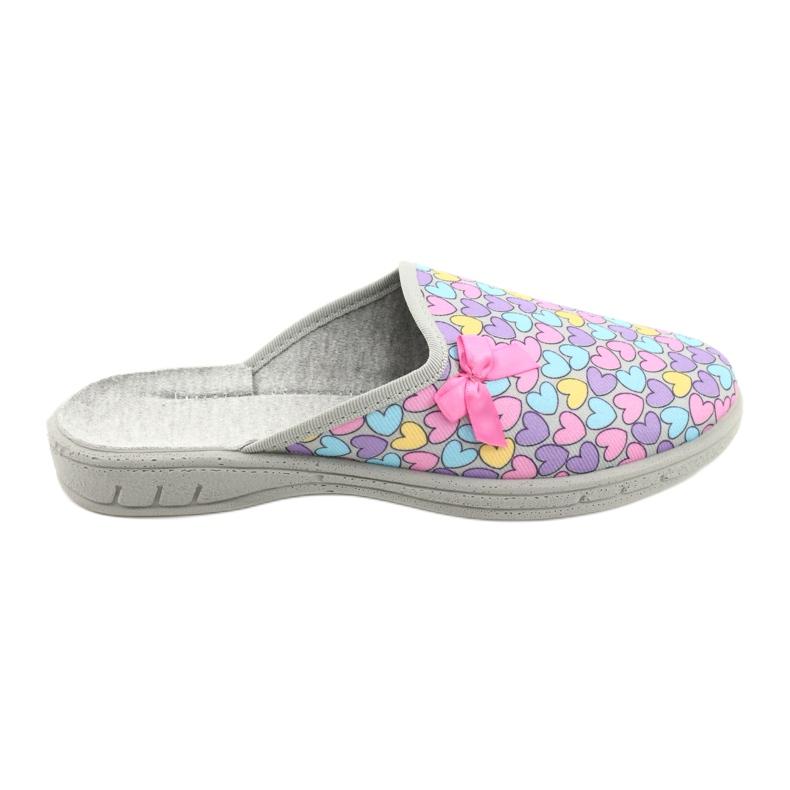 Befado chaussures enfants colorées 707Y410 argent multicolore