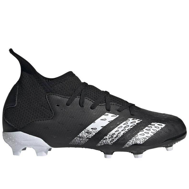 Chaussure de foot adidas Predator Freak.3 Fg Junior FY1031 noir noir