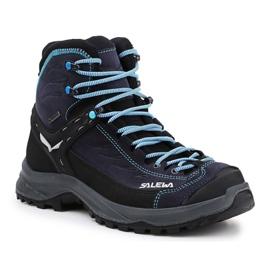 Salewa Ws Hike Trainer Mid Gtx W 61342-2242 noir marine
