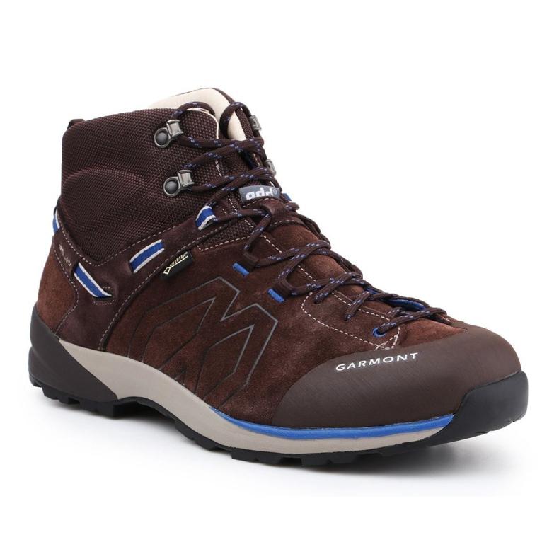 Chaussures Garmont Santiago Gtx M 481240-217 brun bleu