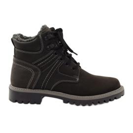 Chaussures d'hiver trappets Naszbut 831 noir