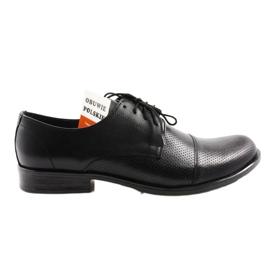 Chaussures pour hommes Moskała 243/66 noir