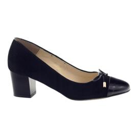 Escarpins avec un arc Sagan 2275 chaussures femmes noires