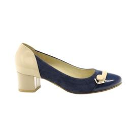 Chaussures femme Edeo 1900 bleu marine