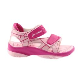 Sandales roses Velcro pour enfants pour l'eau Rider 488