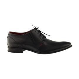 Chaussures classiques noires pour hommes Pilpol 1623