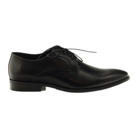 Chaussures classiques pour hommes Pilpol 1329 noir