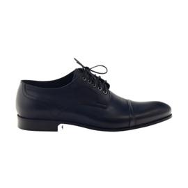 Oxford chaussures Pilpol 1607 bleu marine