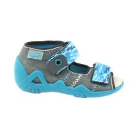 Sandales pour enfants Befado avec insert en cuir 350P062