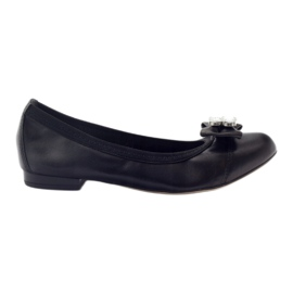 Ballerines femme archet Gamis 1402 noir