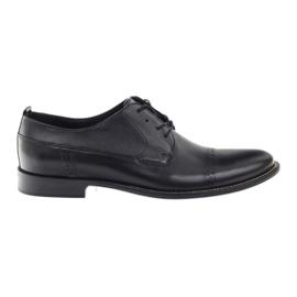 Chaussures Badura classiques noires pour hommes 7599