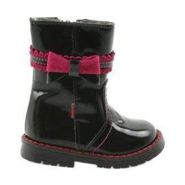 Bottes pour filles Zarro 87 / noir rose