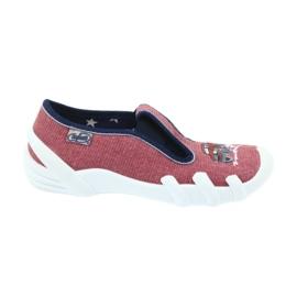 Befado enfants chaussures pantoufles 290x134 multicolore brun