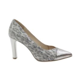 Caprice escarpins femme chaussures 22407 gris