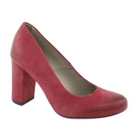 Chaussures classiques pour femmes Edeo 2119 bordeaux