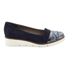 Edeo Chaussures LORDSY confortable bleu marine