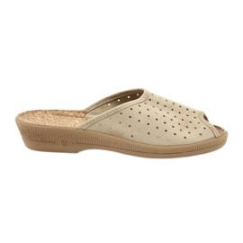 Brun Befado Chaussures Femme Chaussons 581d169
