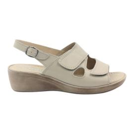 Sandales femmes Gregors 592 beiges brun