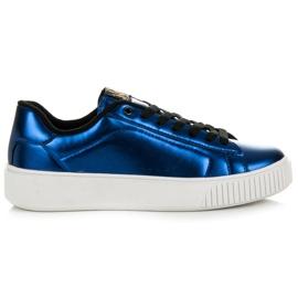 Kylie Sneakers Sur La Plateforme bleu