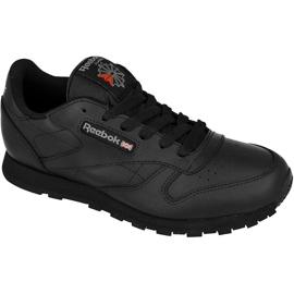 Chaussures Reebok Classic Leather Jr 50149 noir
