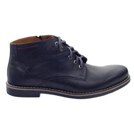 Moskała Chaussures sur le curseur TM-1 bleu marine