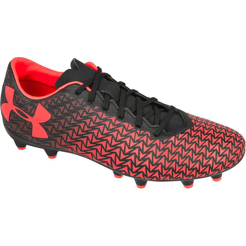 Chaussures de football Under Armour Force 3.0 Fg rouge
