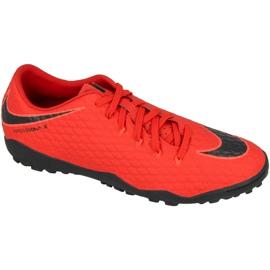Chaussures de football Nike Hypervenom Phelon III TF M 852562-616 rouge rouge