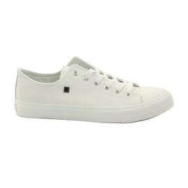 Blanc Sneakers baskets pour lacets Big Star