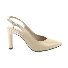Escarpins Caprice, chaussures pour dames 29603 brun
