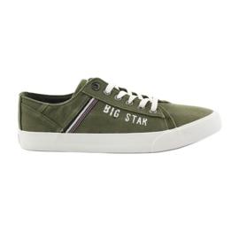 Vert Baskets Big Star 174315 Baskets kaki