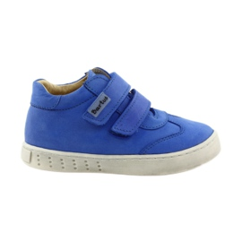 Bleu Chaussures pour garçons avec velcro Bartuś