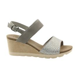 Sandales Caprice pour femmes 28701 gris