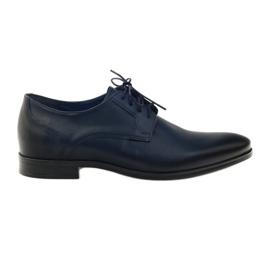 Chaussures Nikopol 1628 pantoufles marine