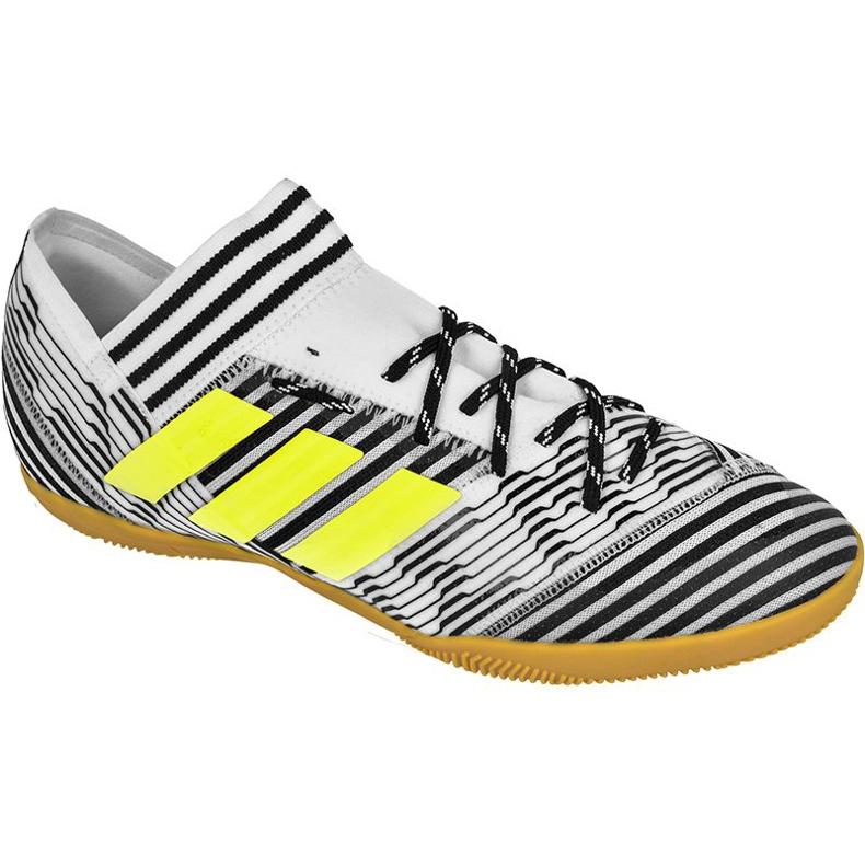 Chaussures d'intérieur Adidas Nemeziz Tango 17.3 In M BB3653 blanc, noir blanc