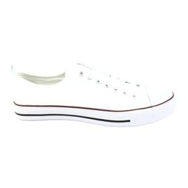 American Club Chaussures de sport américaines blanches pour hommes