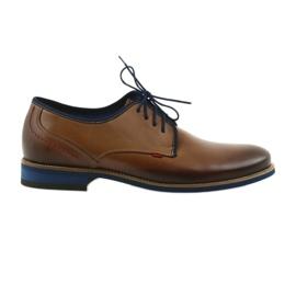 Brun Chaussures homme noires Nikopol 1653