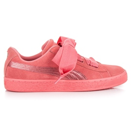 Puma Suede Heart Snk Jr rose