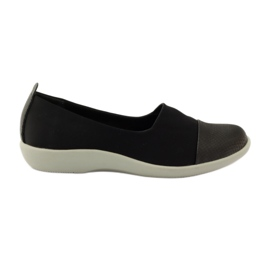 Chaussures très confortables Aloeloe slipons noir
