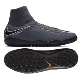 Hypervenom Nike PhantomX 3 Academy DF TF M AH7276-081 gris