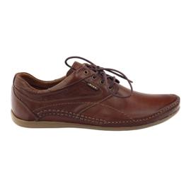 Brun Riko chaussures de sport pour hommes 844