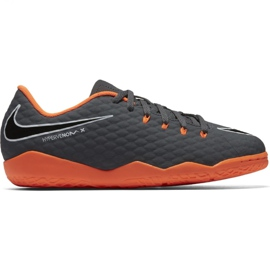Nike Hypervenom PhantomX chaussures de football gris gris / argent