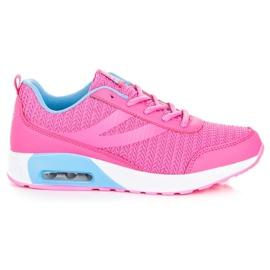 Ax Boxing rose Chaussures de sport à la mode