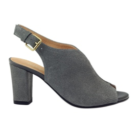 ESPINTO 248 sandales cobra grises
