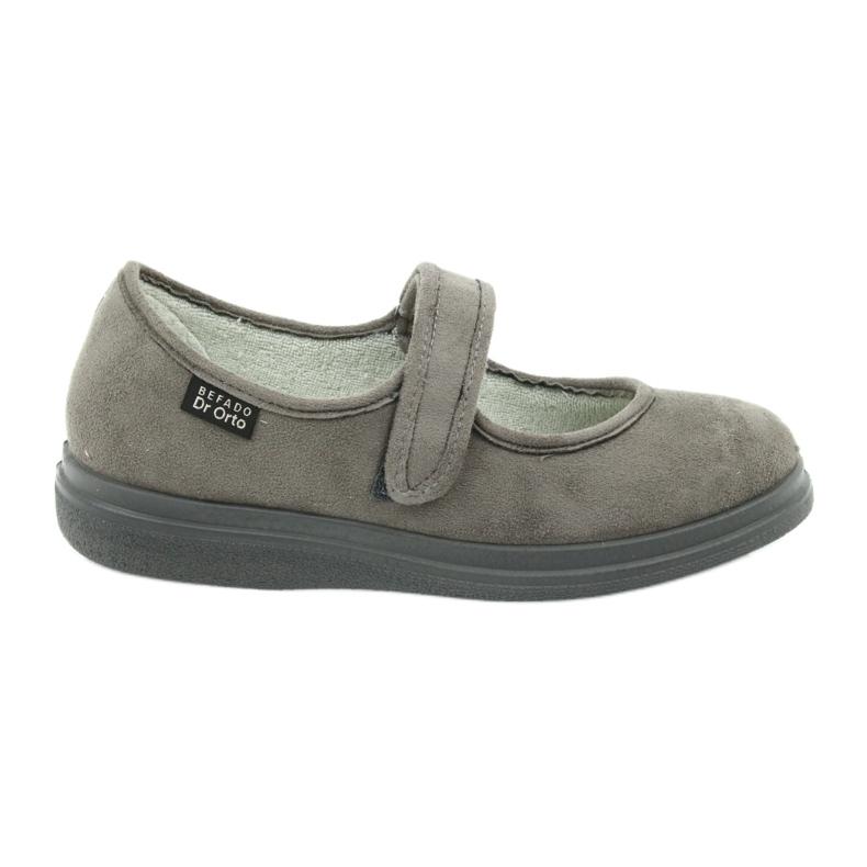 Gris Befado chaussures pour femmes pu 462D001