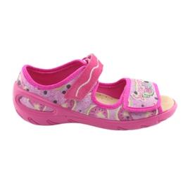 Rose Befado chaussures pour enfants pu 433X030