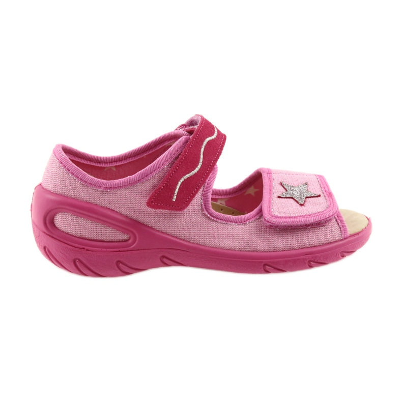 Rose Befado chaussures pour enfants pu 433X032