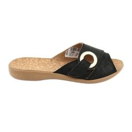 Noir Befado chaussures pour femmes pu 265D005