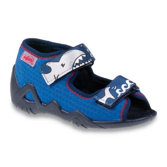 Befado chaussures pour enfants 250P069 bleu