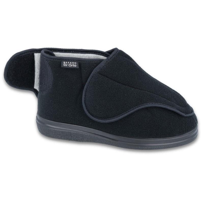 Befado hommes chaussures pu orto 163M002 noir